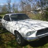 1st gen classic 1968 Ford Mustang project car For Sale