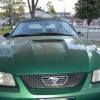 4th gen green 1999 Ford Mustang convertible V6 For Sale