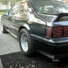 3rd gen black 1989 Ford Mustang GT 5.0L fox body For Sale