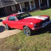 Classic 1st gen 1968 Ford Mustang matching numbers For Sale