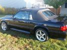 3rd gen black 1993 Ford Mustang GT Convertible [SOLD]
