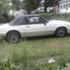 3rd gen white 1993 Ford Mustang convertible For Sale