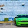 5th gen green 2014 Ford Mustang V6 6spd low miles For Sale