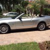 Silver 2011 Ford Mustang convertible automatic V6 For Sale