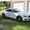 Wimbledon White 2015 Ford Mustang GT 50th Anniversary LIMITED EDITION For Sale