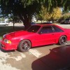3rd gen bright red 1993 Ford Mustang Hatchback For Sale