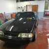 3rd generation black 1990 Ford Mustang LX For Sale