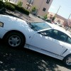 4th generation white 2000 Ford Mustang V6 For Sale