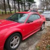 4th generation red 2001 Ford Mustang automatic For Sale