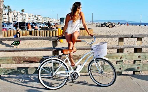 Maybe you need a beach cruiser?
