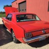 1st generation classic red 1965 Ford Mustang For Sale