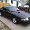 4th gen black 1995 Ford Mustang GTS 5spd 5.0 V8 For Sale