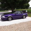 3rd gen 1989 Ford Mustang GT convertible automatic For Sale