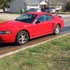 Red 2004 Ford Mustang automatic 40th anniversary edition For Sale