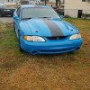 4th generation blue 1996 Ford Mustang Cobra For Sale