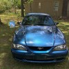 4th generation supercharged 1998 Ford Mustang GT For Sale
