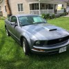 5th generation gray 2007 Ford Mustang V6 automatic For Sale