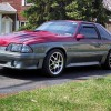 3rd generation 1987 Ford Mustang GT 5spd 460whp For Sale