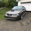 4th generation gray 2001 Ford Mustang GT For Sale