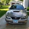 4th generation gray 2002 Ford Mustang automatic For Sale