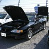 Black 1995 Ford Mustang SVT Hardtop Convertible For Sale
