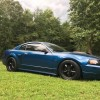 4th generation blue 2000 Ford Mustang GT 5spd For Sale