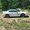 4th generation white 1996 Ford Mustang manual For Sale