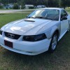 4th gen white 2002 Ford Mustang V6 automatic For Sale