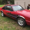 3rd generation red 1993 Ford Mustang V8 automatic For Sale