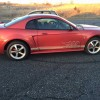4th generation red 2002 Ford Mustang automatic For Sale