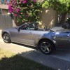 Gray 2007 Ford Mustang GT convertible automatic [SOLD]