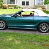 Pacific Green 1997 Ford Mustang SVT Cobra low miles For Sale