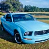 5th generation blue 2005 Ford Mustang automatic For Sale