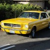 1st gen yellow 1965 Ford Mustang V8 automatic For Sale