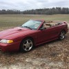 4th gen 1996 Ford Mustang Cobra SVT convertible For Sale