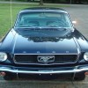 1st gen Nightmist Blue 1966 Ford Mustang automatic For Sale