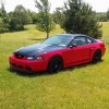 4th gen red 2003 Ford Mustang GT V8 5spd manual For Sale