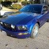 5th gen blue 2005 Ford Mustang GT Premium convertible For Sale