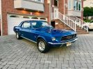1st generation blue 1967 Ford Mustang manual For Sale