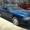 4th generation blue 1998 Ford Mustang V6 5spd For Sale