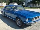 1st generation blue 1967 Ford Mustang V8 automatic For Sale