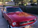 1st gen Cherry Red 1965 Ford Mustang V8 automatic For Sale