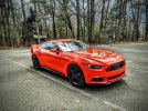 6th gen Competition Orange 2015 Ford Mustang EcoBoost For Sale