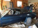 1st generation blue 1973 Ford Mustang convertible For Sale