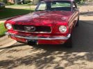 1st generation red 1966 Ford Mustang automatic For Sale